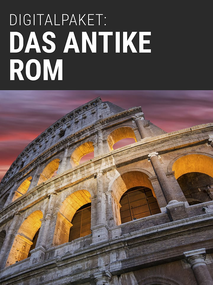 Booklet Cover Spectrum of Science Digital Package: Ancient Rome