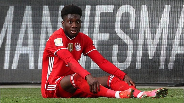 Bayern: Injured Alfonso Davies misses out on Gold Cup with Canada
