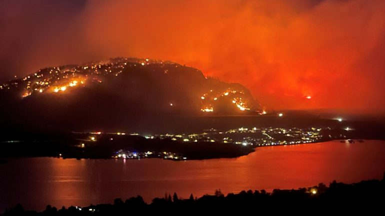 British Columbia declares state of emergency over wildfires