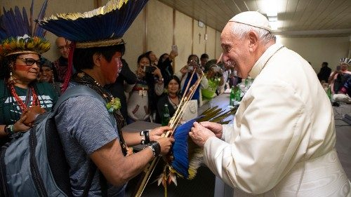 Canada: Indigenous people from boarding schools with the Pope in December