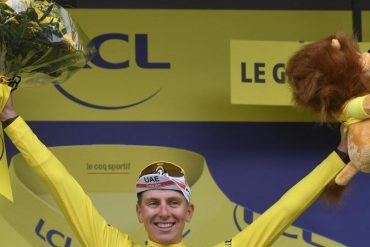 Cycling - One-man-show by Champion Pogakar - Wins the Day in Tunes - Sport