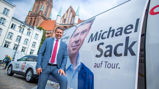 Election campaign: CDU's top candidate Sack: Whoever votes for SPD, vote it in red-red-green color