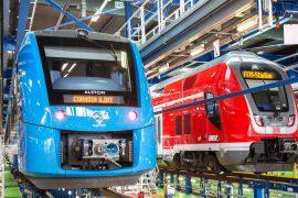 Frankfurt: World's largest hydrogen train fleet launched