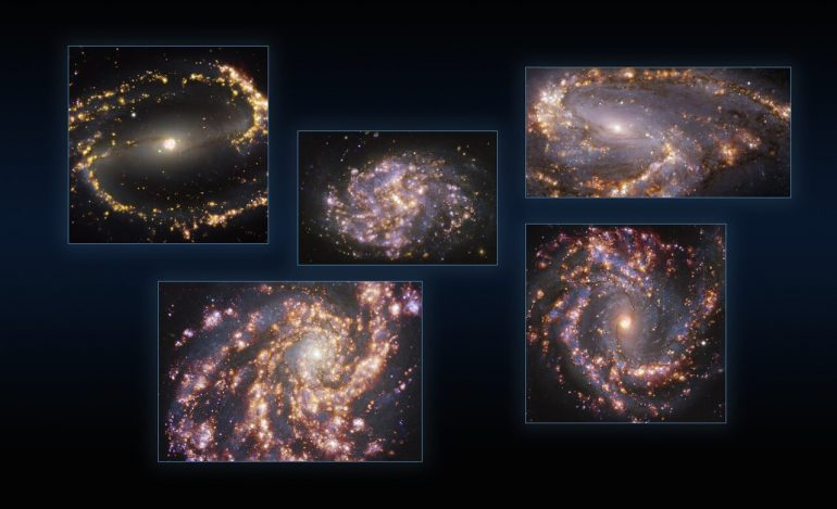 Galaxies in Sight Brilliant Insight into the Galactic Cradle