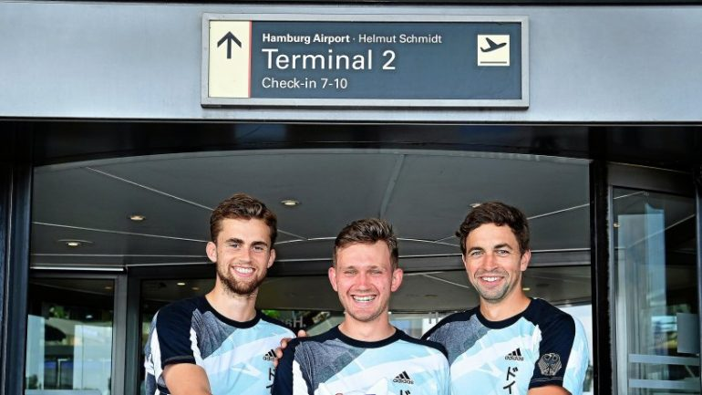 Hamburg hockey players launch Tokyo mission