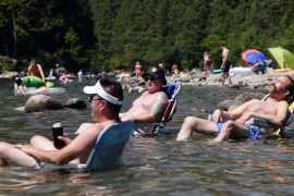 Hottest June ever in North America