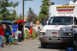 Hundreds of deaths in Canada at a temperature of about 50 degrees Celsius