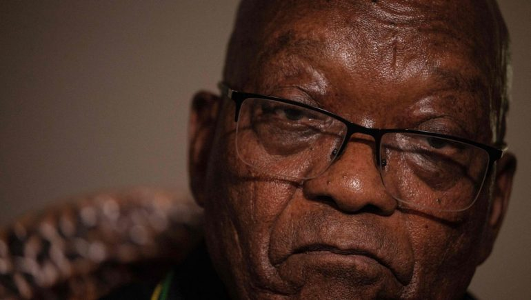 Jacob Zuma: Ex-President of South Africa faces police - 15-month prison sentence