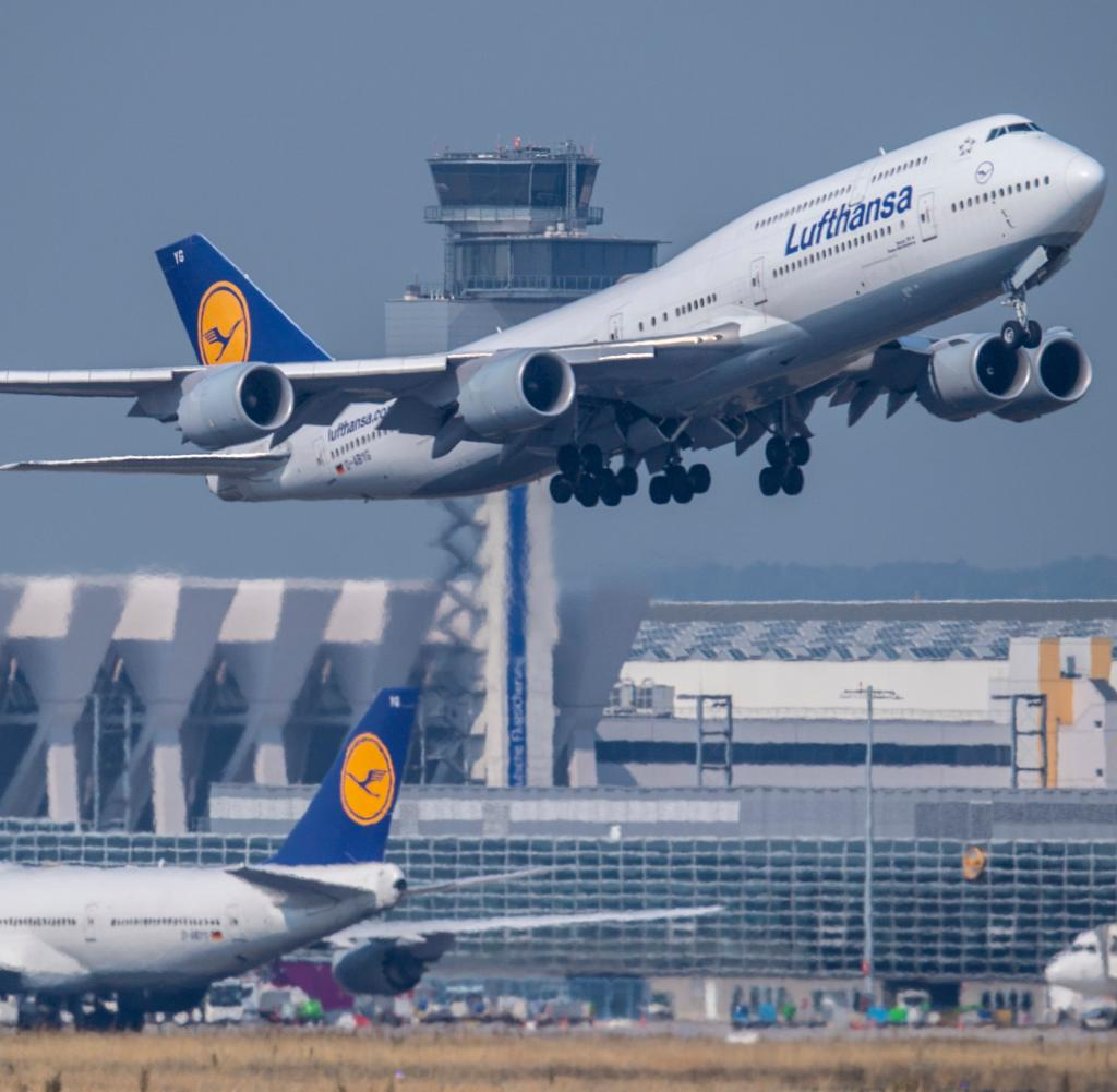 Lufthansa again with more business trips