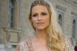 Michelle Hunziker mourns the loss of her dog