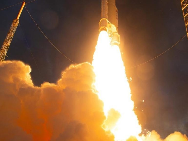 New satellite launched into space with Ariane 5 rocket  free Press