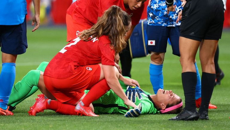 Olympia 2021: drama about goalkeeper Stephanie Labe in Canada's game against Japan