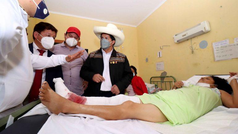 Peru: Dozens injured in severe earthquake