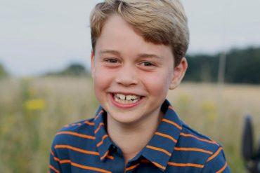 Prince George celebrated his eighth birthday