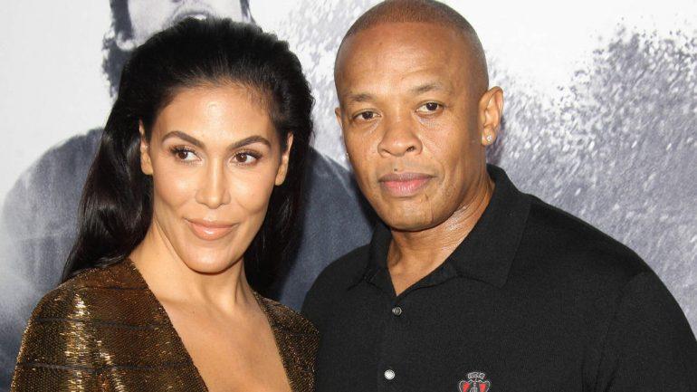 Rapper Dr. Dre paid his ex-wife