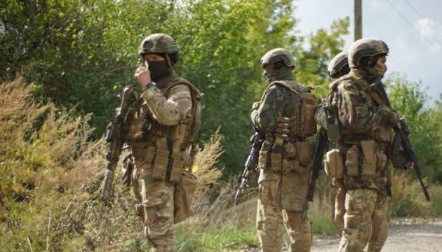 Seven Ukrainian soldiers injured in fire in OVK area