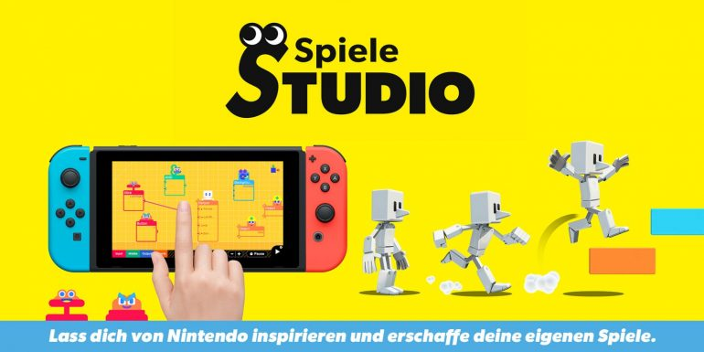 Sprint with the B Button - Download the New Game Studio System • Nintendo Connect