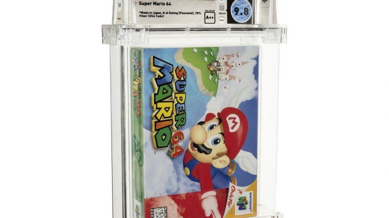 """""""Super Mario 64"""" Sold For Over One Million Dollars - The World's Most Expensive Game    life and wisdom"""