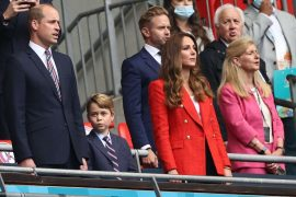 """William and Kate: Royals in England vs Germany - Prince George causes laughter with funny """"goal celebration"""""""