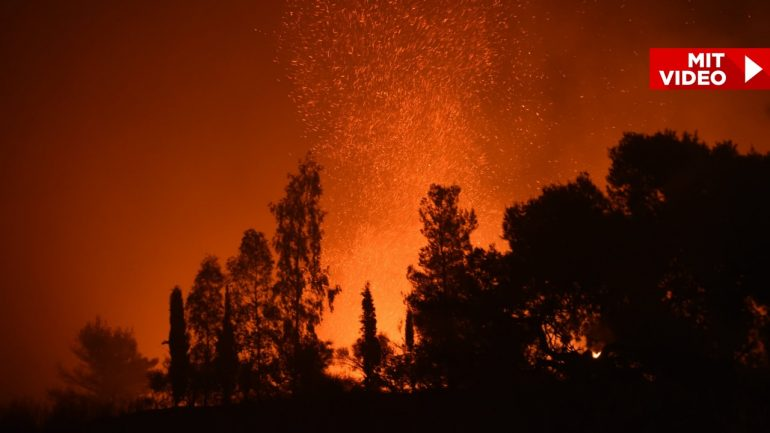 About 50 degrees in Greece - hell and flame hell!  - news