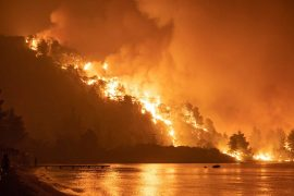Forest fires: 400 fires in Greece within 24 hours