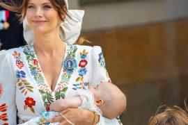 Sweden's youngest prince Julian baptized