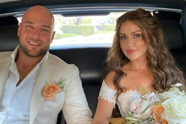 Kim Gloss and her boyfriend Alexander married in Rome
