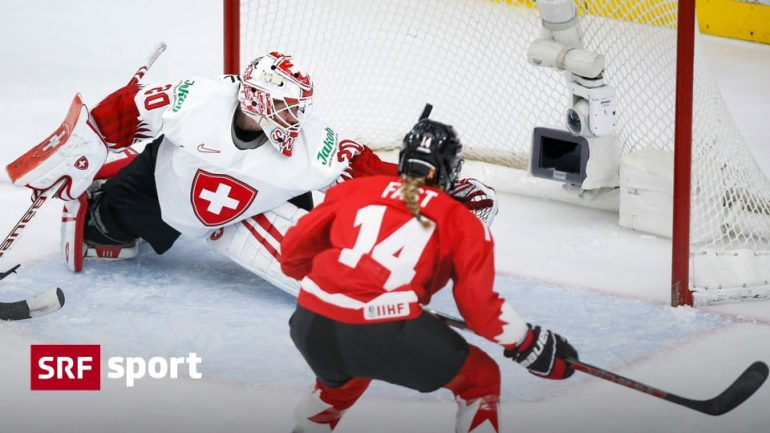 0: 4th loss in World Cup semi-finals - Swiss women fail after hard fight against Canada - SPORTS