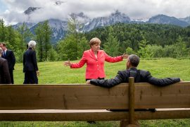 Chancellor's foreign policy: Merkel on the big stage