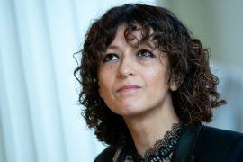 Emmanuelle Charpentier, Direktorin der Berliner Max-Planck-Forschungsstelle für die Wissenschaft der Pathogene (Quelle: DPA/Bernd von Jutrczenka)