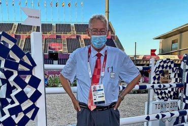 Für Joachim Geilfus, Richter beim Springreiten, haben die Olympischen Spiele in Tokio erst am Dienstag so richtig begonnen.