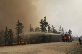 """Forest fires in Russia: """"a great disaster"""""""