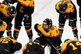 German ice hockey women warm up for Summer World Cup in Canada
