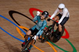 German track cyclists leave empty handed