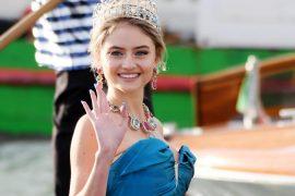 Heidi Klum's daughter Lenny shines on the Dolce & Gabbana catwalk