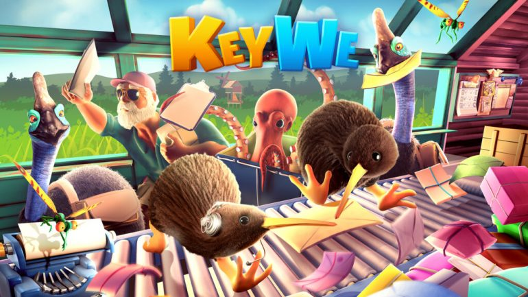 Keyway Co-op Puzzle Game Launches Today for Nintendo Switch and PC • Nintendo Connect