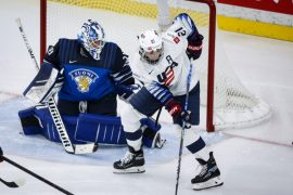 Knight scored a record number of goals as the US beat Finland 3-0