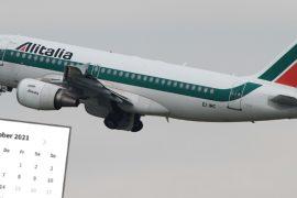 Later flights canceled: Alitalia on October 14 says Addio