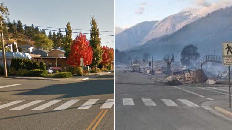 Litton in Canada: Roller of fire destroys village - devastation in pictures
