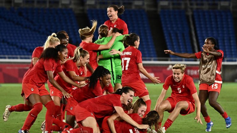 Olympia 2021: Canada beat Sweden in women's final to become Olympic champion for the first time