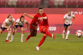 Olympia 2021: Canada surprises win against USA and enters women's football final