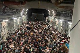 Overloaded evacuation flight: 640 Afghans enter US planes