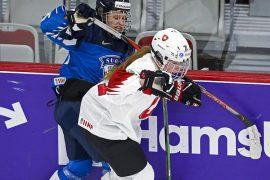 Swiss women also lost to Finland