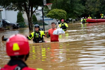 USA: Hurricane Henry causes flooding in New England