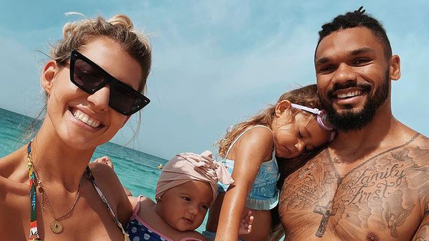 Sarah, Kayla, Mia and Dominic Harrison
