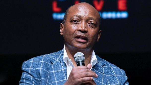 Patrice Motsepe, the new president of the CAF, speaks in favor of the FIFA line.  (Source: Imago Images / Pacific Press Agency)