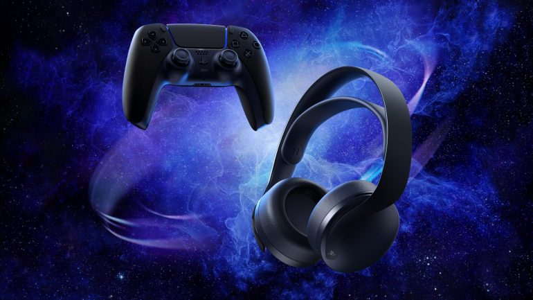 PULSE 3D Wireless Headset will be available next month in Midnight Black