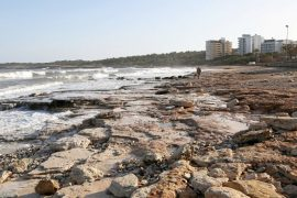 Mallorca: the storm washed away two beaches - the sea turned brown