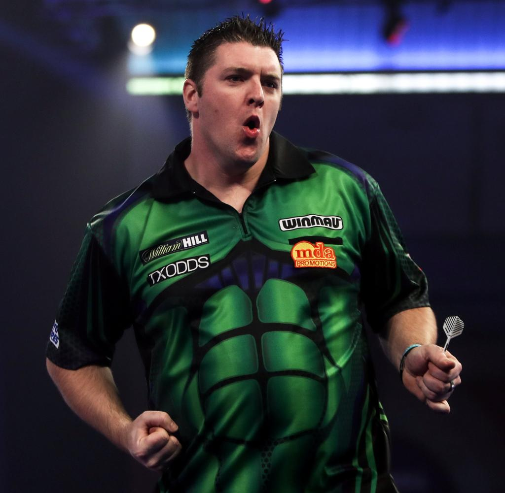 Daryl Gurney suffered five match darts against him, happily finally reaching the second round