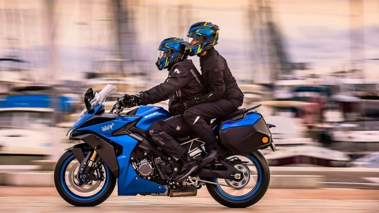 Freedom to travel for 2022: Suzuki GSX-S1000 GT - for the big tour